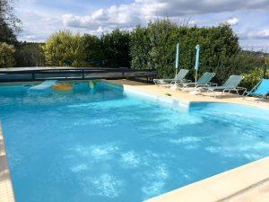 piscine zen détente