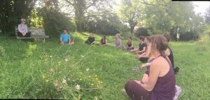Satsang, yoga et méditation - accueillir la nouvelle année