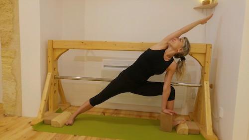 yoga iyengar agnes labat