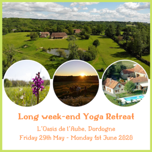 Long Week-end Yoga Retreat with Claire Farrance