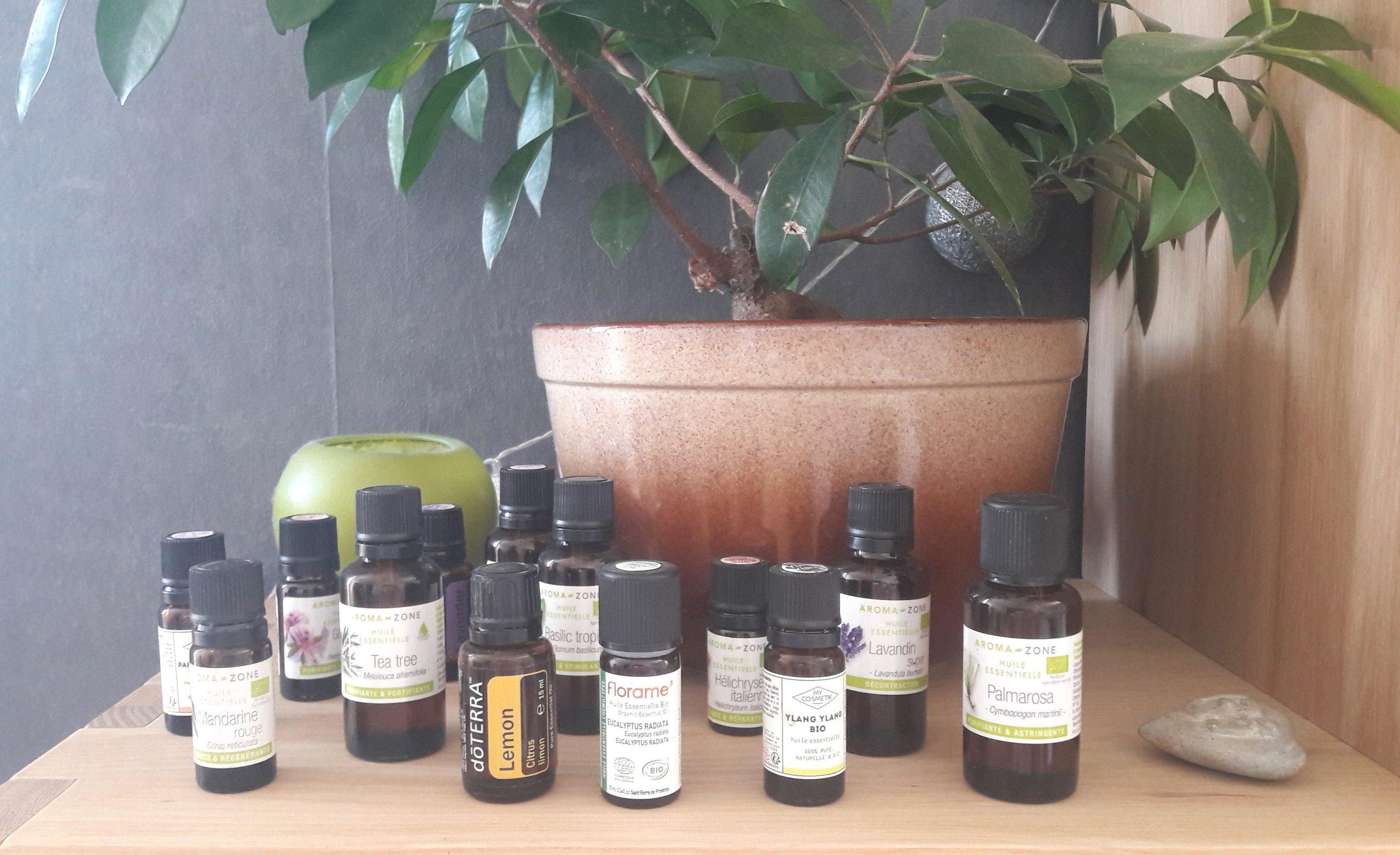 formation aromathérapie huiles essentielles